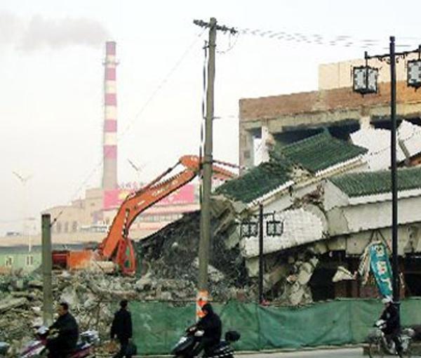 黑龙江房屋拆除