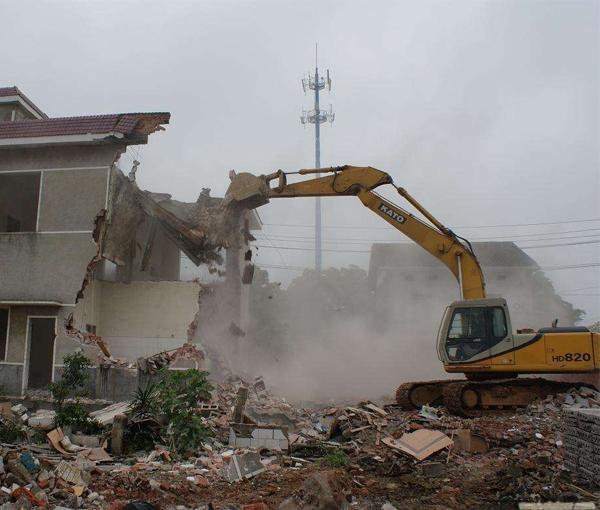 哈尔滨房屋拆除
